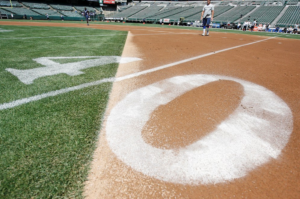 Even after all the factors have been weighed and the schedule is produced, the league occasionally has to make adjustments on short notice. A 2013 playoff run by baseball's Oakland A's required the NFL to push back the kickoff for a Raiders game to allow time to convert the field from baseball to football.
