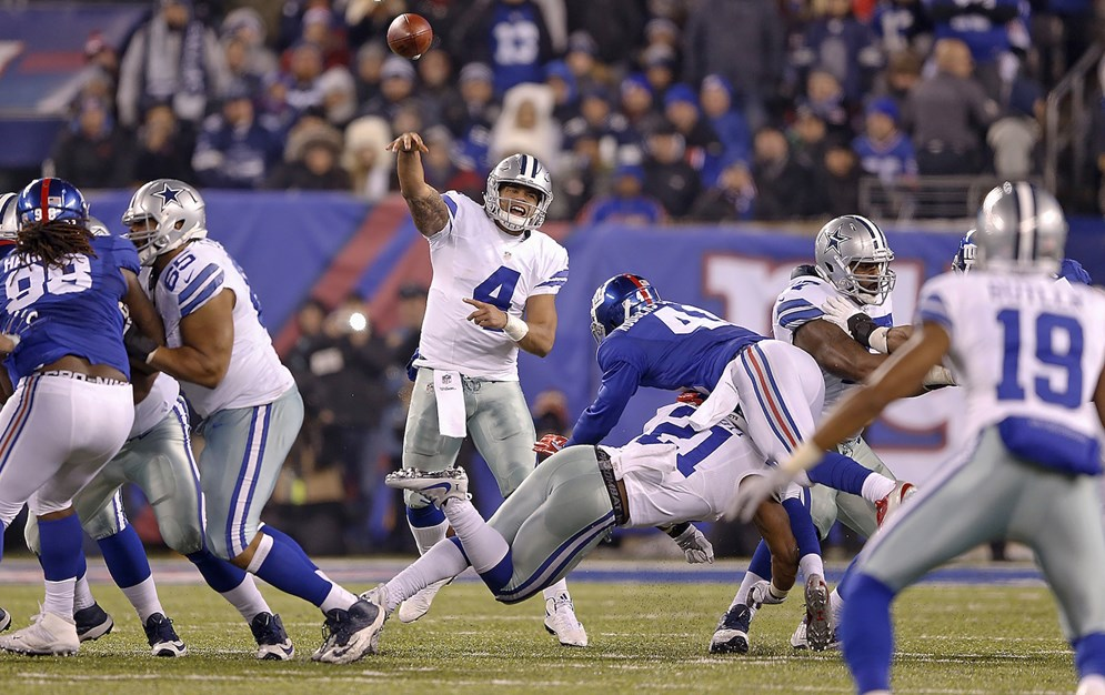NBC's Sunday Night Football kicks off on Sept. 10 when the Dallas Cowboys host the New York Giants (8:30 PM ET) at AT&T Stadium.