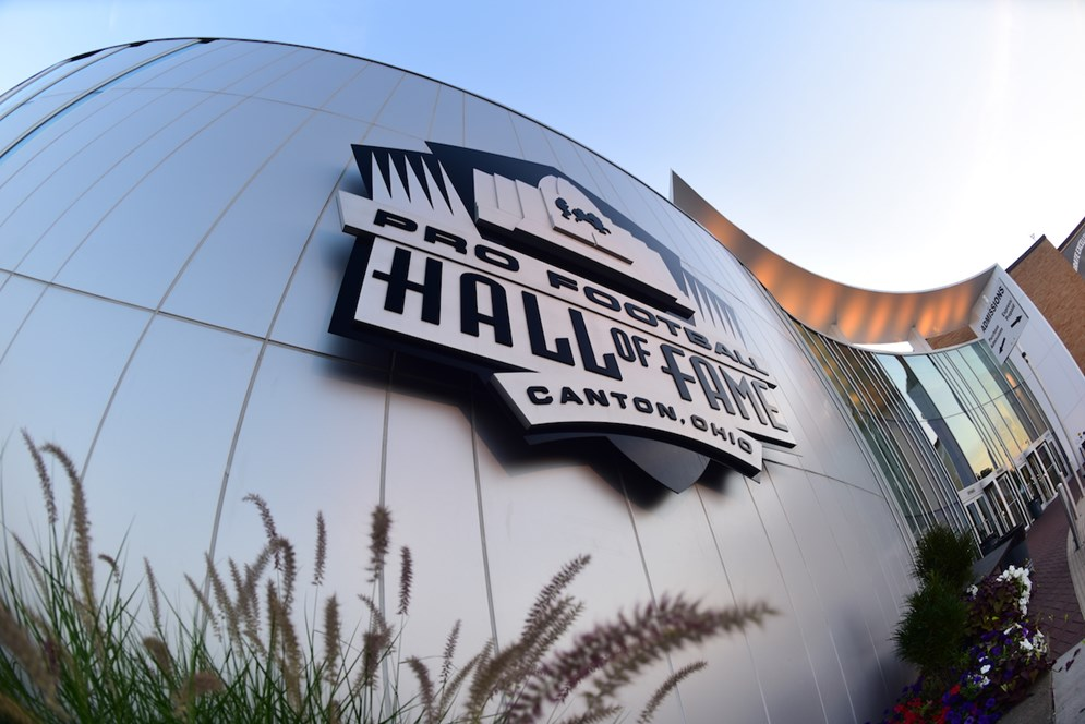 The Pro Football Hall of Fame in Canton, Ohio preserves football's rich history.