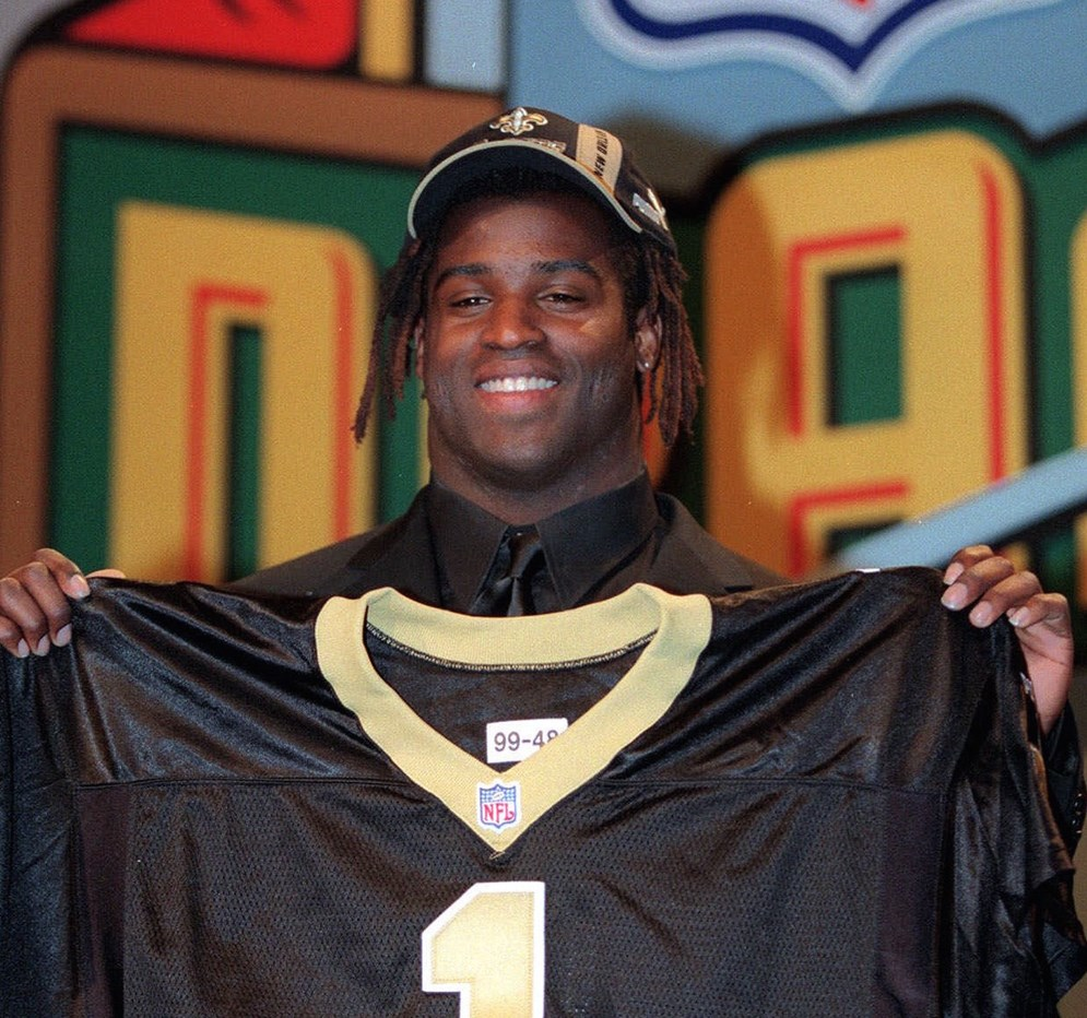 The New Orleans Saints traded a total of eight future draft picks in 1999 and 2000 to Washington to get Ricky Williams, the 1998 Heisman Trophy winner. (AP Photo/Suzanne Plunkett)