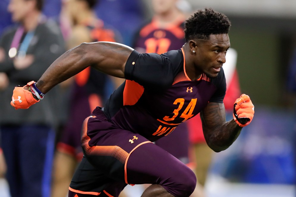 Mississippi wide receiver D.K. Metcalf is one of 11 prospects from the SEC attending the 2019 NFL Draft.