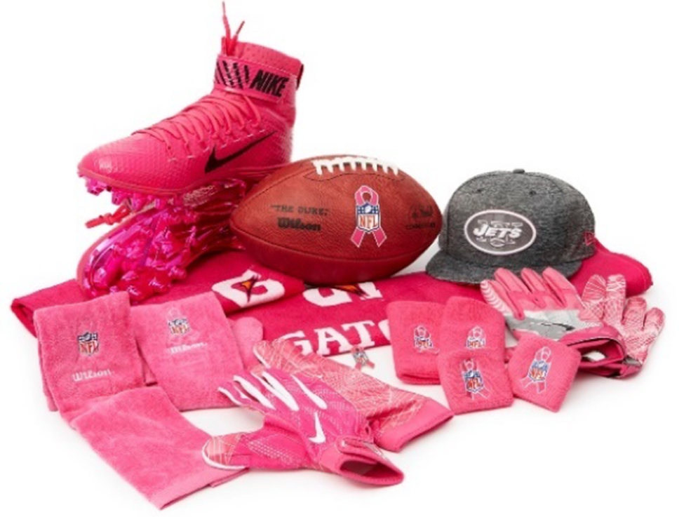 Nfl Supports National Breast Cancer Awareness Month With A