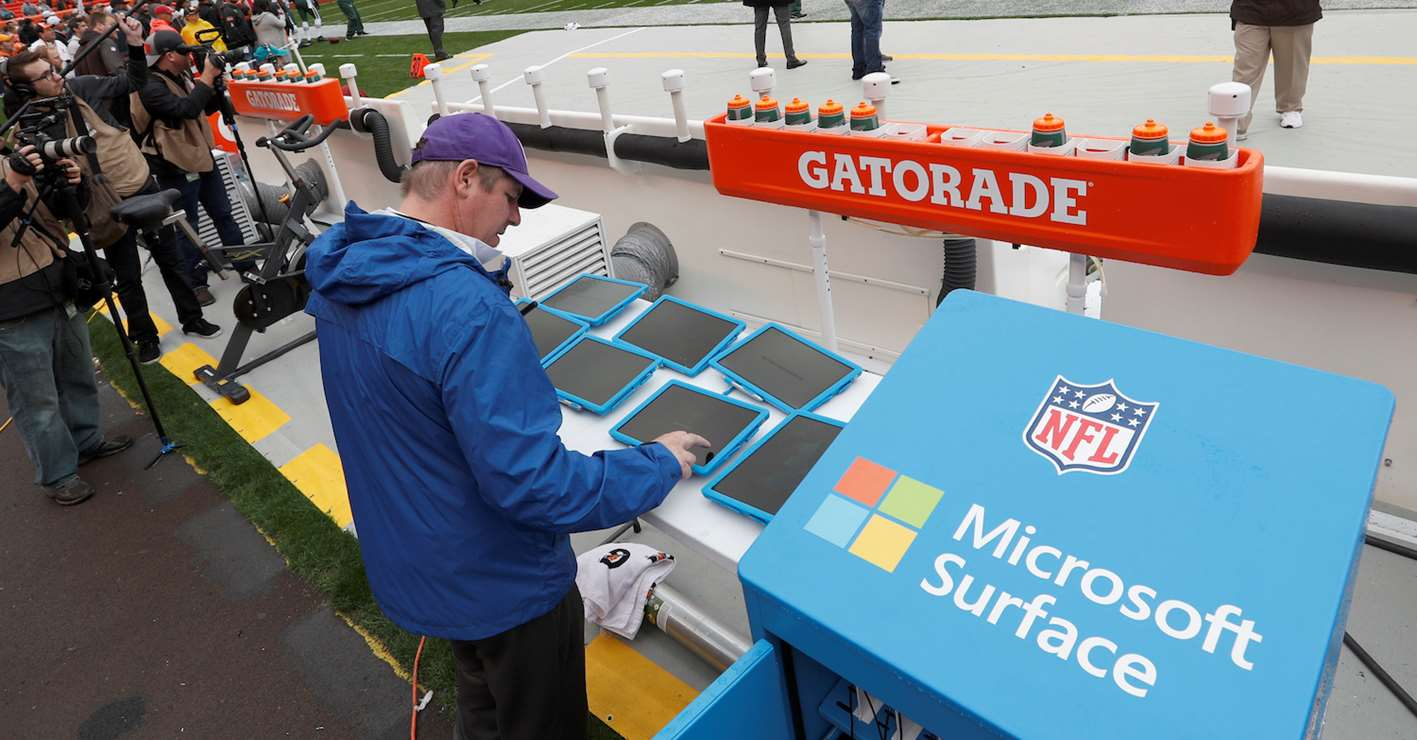 sideline of the future nfl football operations