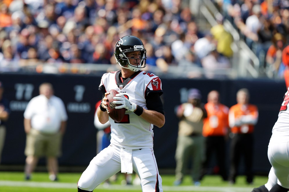 Matt Ryan and the Atlanta Falcons open their new home — Mercedes-Benz Stadium — when they host the Green Bay Packers in a rematch of last season's NFC Championship Game on Sunday Night Football.