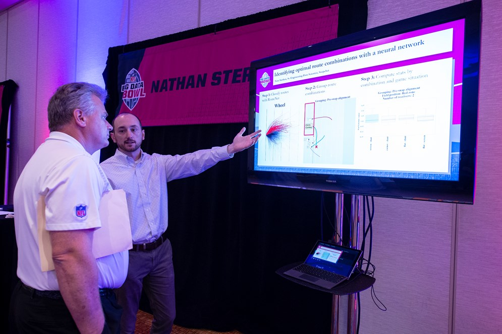 Nathan Sterken walks through his winning report at the 2019 Big Data Bowl.