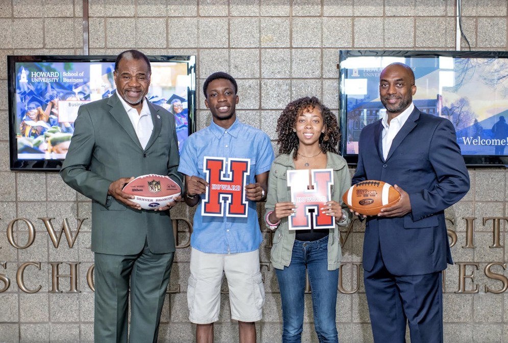 The NFL and Howard University partnered to launch the Campus Connection program.