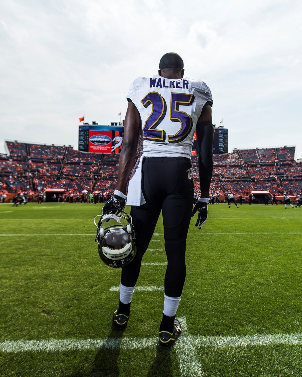 Tray Walker became the highest-drafted Regional Combine player when the Baltimore Ravens drafted him in the fourth round of the 2015 NFL Draft.  (Ric Tapia via AP)